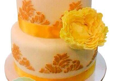 2 Layer Fondant Cake 1