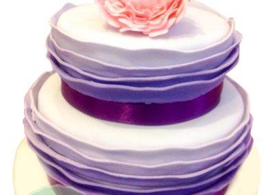 2 Layer Fondant Cake 3