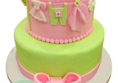 2 Layer Fondant Cake 4