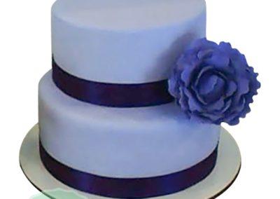 2 Layer Fondant Cake 5