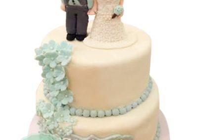 2 Layer Fondant Cake 6
