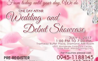 One Day Affair Wedding and Debut Showcase