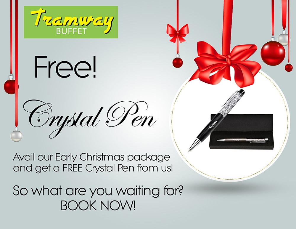 Crystal Pen Early Christmas Package