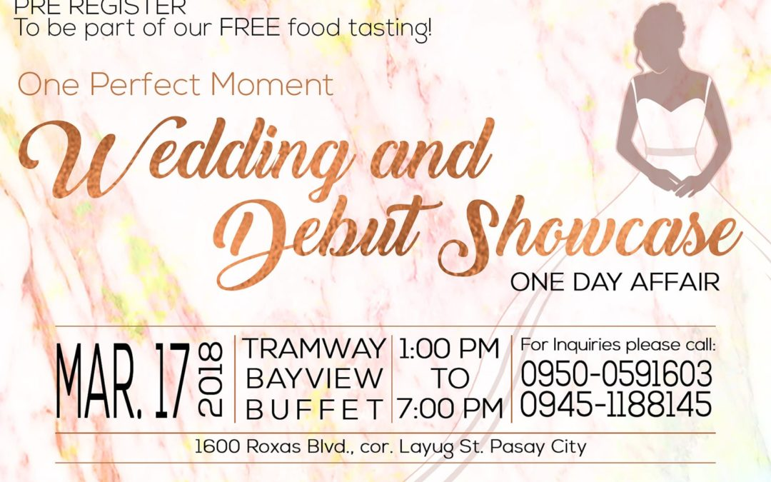 Wedding and Debut Showcase One Day Affair
